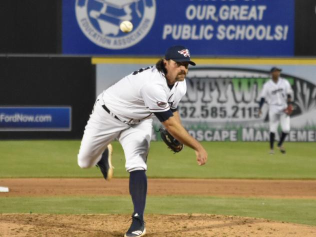 Somerset Patriots pitcher Zech Zinicola