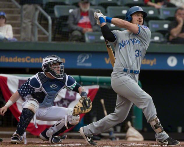 Grant Heyman of the Rockland Boulders