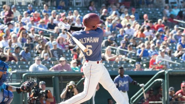 Josh Altmann of the Frisco RoughRiders
