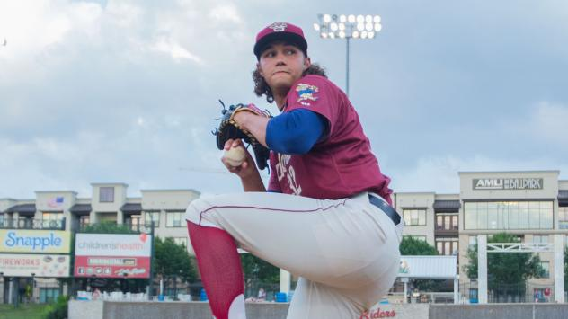 Frisco RoughRiders pitcher Tyler Phillips