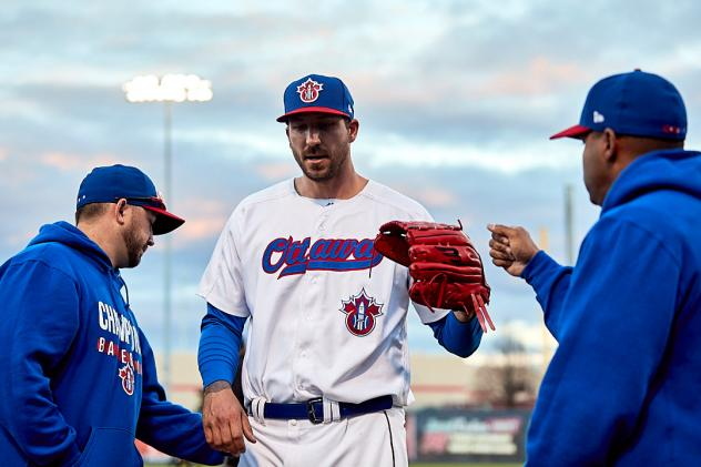 Ottawa Champions pitcher Phillippe Aumont