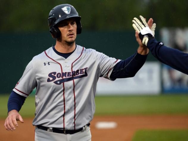 Mike Ohlman of the Somerset Patriots