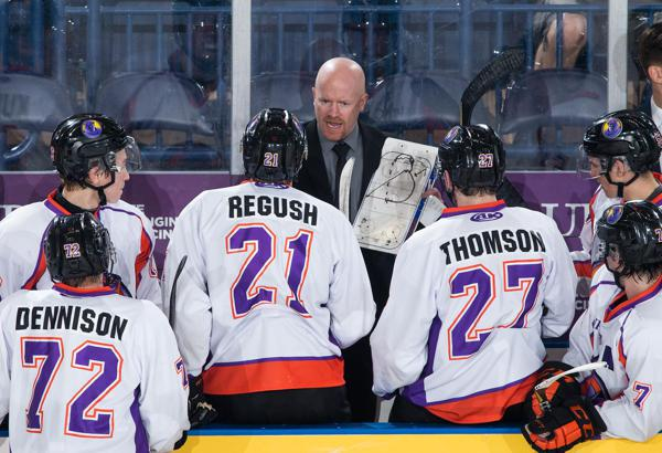 Youngstown Phantoms head coach Brad Patterson