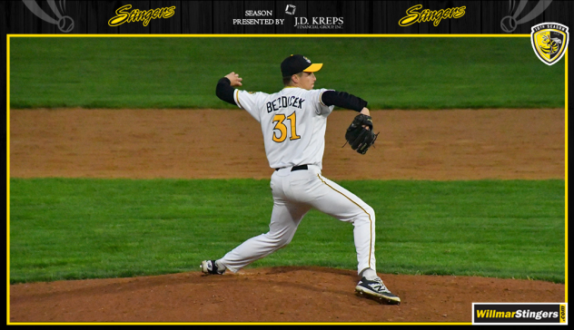 Willmar Stingers pitcher John Bezdicek