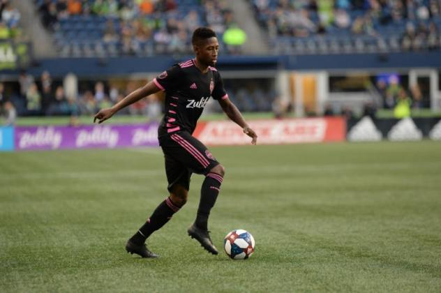Kelvin Leerdam is tied for second on Seattle Sounders FC with four goals this season
