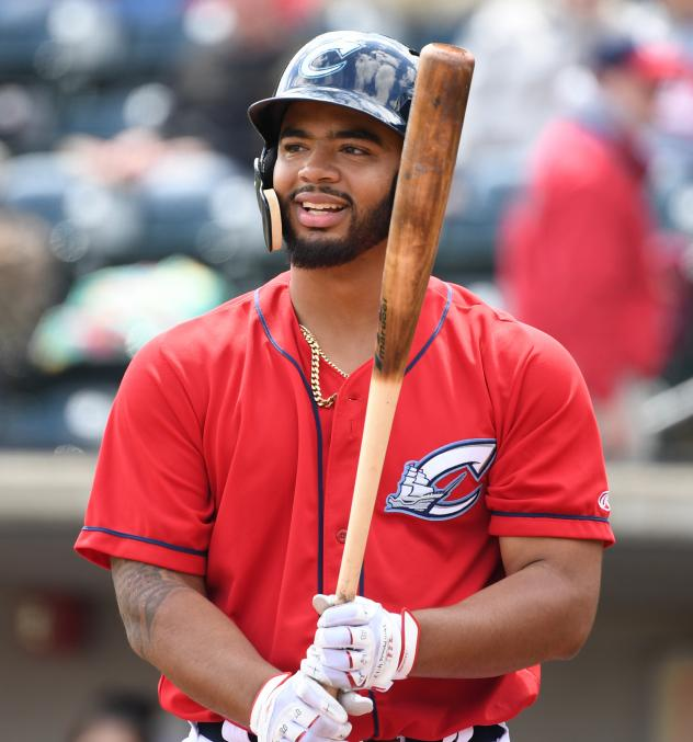 Bobby Bradley of the Columbus Clippers