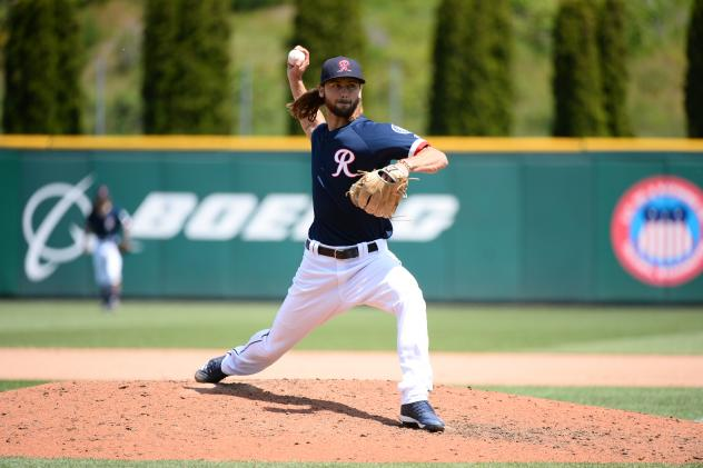 Tacoma Rainiers pitcher Tayler Scott