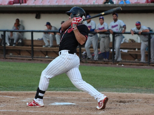 New Jersey Jackals at the plate