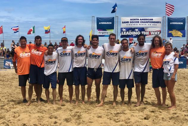 Tacoma Stars at the 2019 North American Sand Soccer Championships