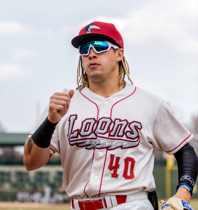Niko Hulsizer of the Great Lakes Loons