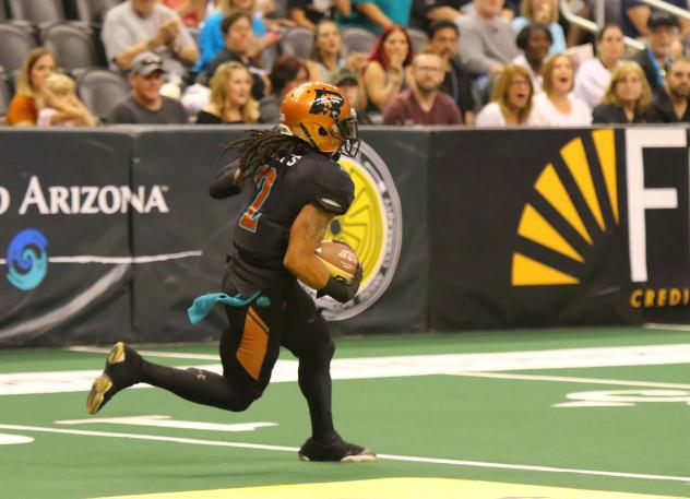 Jamal Miles of the Arizona Rattlers vs. the San Diego Strike Force