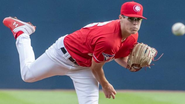 Vancouver Canadians RHP Nick Fraze made his pro debut on Wednesday afternoon in Vancouver