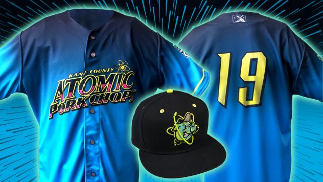 Kane County Atomic Pork Chops hat and uniform