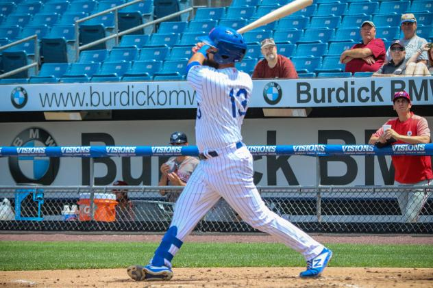 Luis Guillorme had two hits, two walks, and an RBI for the Syracuse Mets on Tuesday afternoon