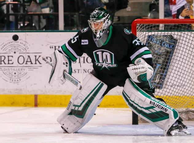 Dallas Stars goaltender Landon Bow