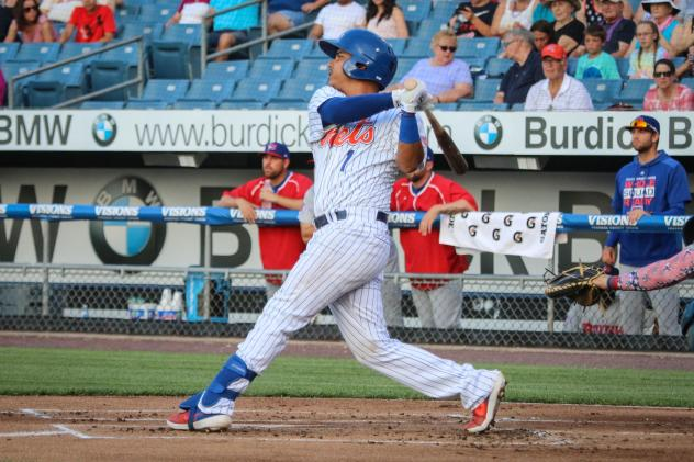 Rebuen Tejada had two hits, including a go-ahead three-run home run for the Syracuse Mets on Thursday night