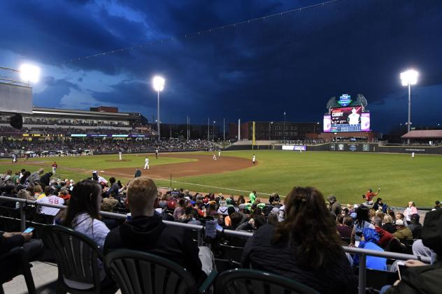 A Dayton Dragons game at Fifth Third Field