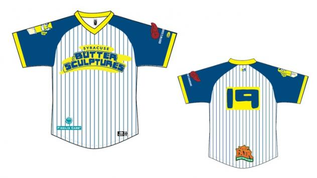 Syracuse Butter Sculptures jersey