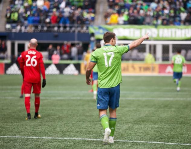 Will Bruin has 20 goals and eight assists in 69 regular-season appearances for Seattle Sounders FC since signing prior to the 2017 season