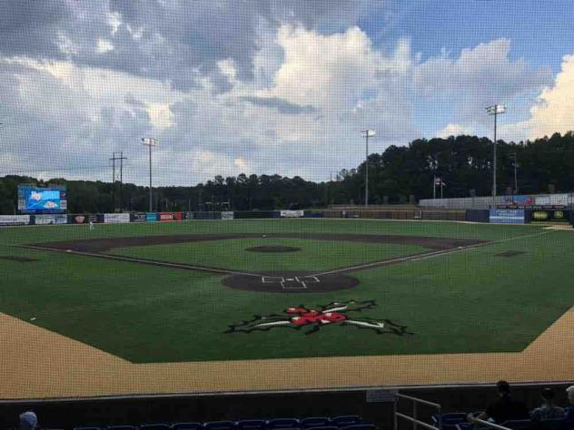 Ting Field, home of the Holly Springs Salamanders