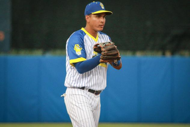 Ruben Tejada knocked in three runs and had two hits, including a home run on Saturday night for the Syracuse Butter Sculptures (Mets)