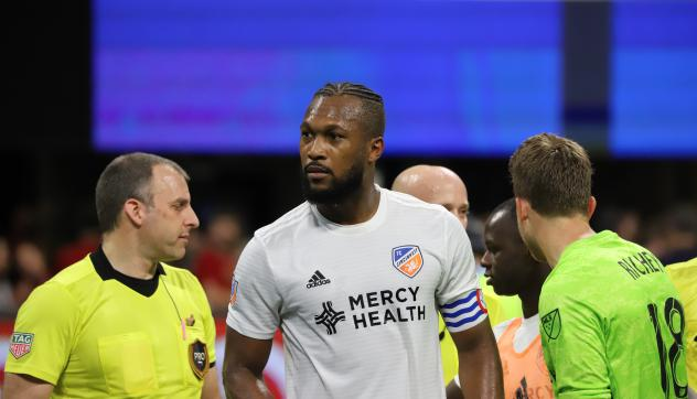 Kendall Waston of FC Cincinnati