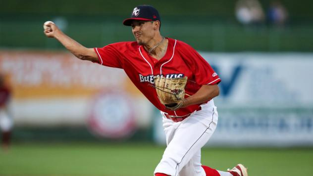 Lakewood BlueClaws pitcher Michael Gomez