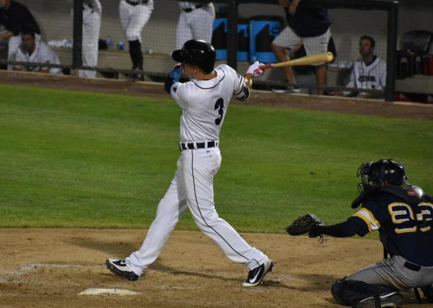Mike Fransoso of the Somerset Patriots