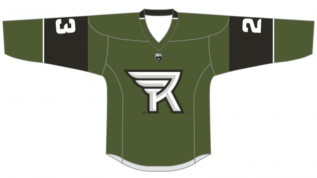 Rochester Knighthawks home jersey