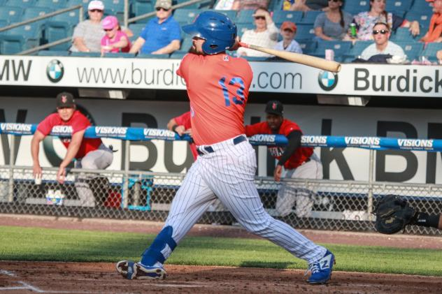 Luis Guillorme had two hits, two walks, and an RBI on Tuesday night for the Syracuse Mets
