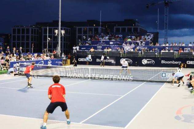 Threatening skies for the Washington Kastles to continue indoors