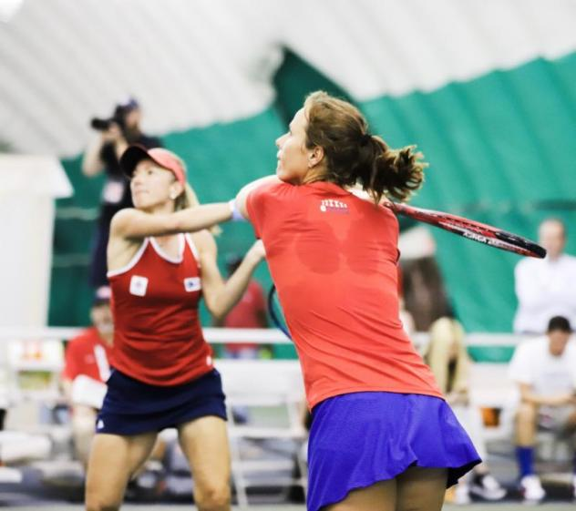 Women's doubles slipped away from the Washington Kastles in the fourth set