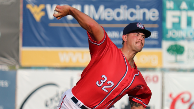 Reid Schaller started the Hagerstown Suns' fourth shutout of the season