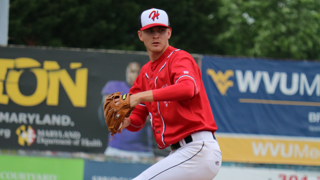 Chandler Day threw 3.2 scoreless innings in relief for the Hagerstown Suns