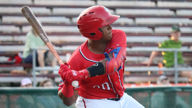 Israel Pineda drove in the go-ahead run in the eighth inning in the Hagerstown Suns' 5-3 win over Columbia Sunday