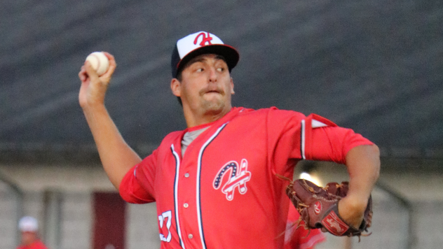 Hagerstown Suns pitcher Jacob Howell