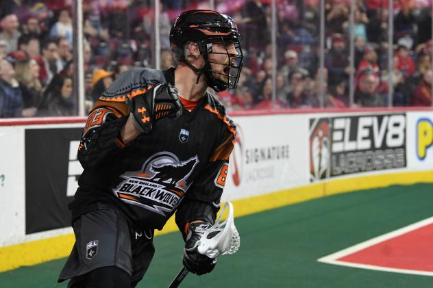 Forward JP Kealey with the New England Black Wolves