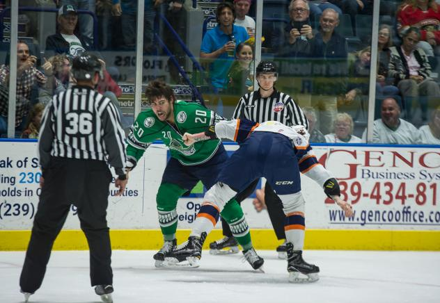 Florida Everblades forward Kyle