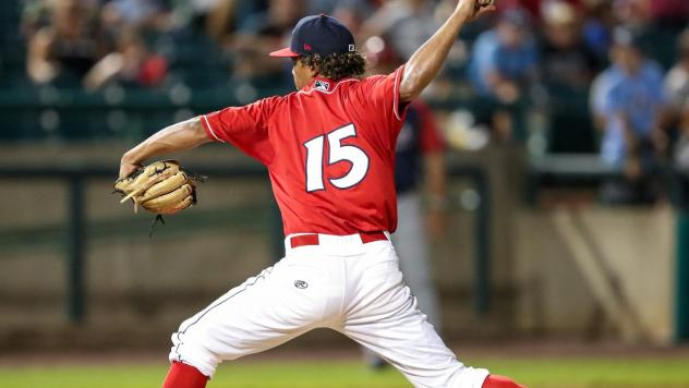 Lakewood BlueClaws pitcher Rafi Gonell