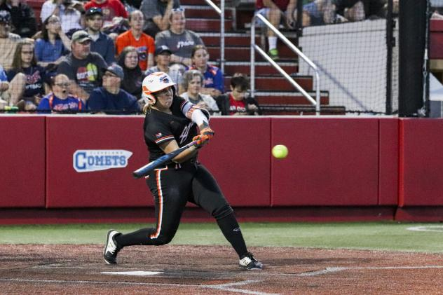 Abbey Cheek of the Chicago Bandits