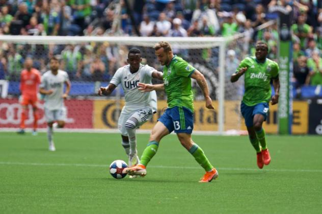 Seattle Sounders FC begins a two-match week with a game at Real Salt Lake tonight