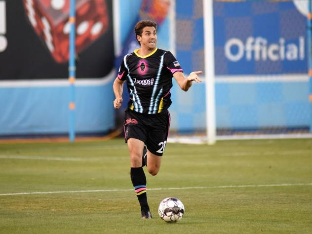 Dejan Jakovic with Las Vegas Lights FC