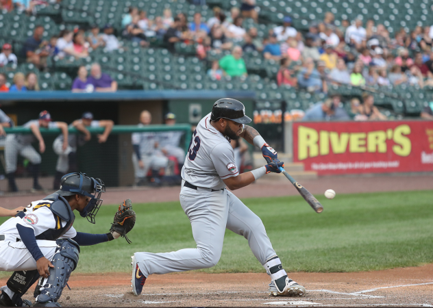 Edwin Espinal of the Somerset Patriots