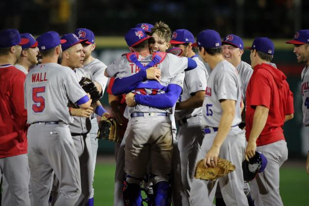 The Buffalo Bisons congratulate pitcher T.J. Zeuch on his no-hitter