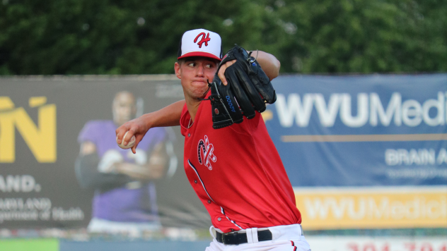 Jackson Rutledge of the Hagerstown Suns offered five, one-hit innings in Thursday's win