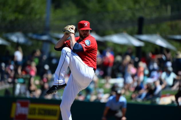 Tacoma Rainiers pitcher Mike Wright