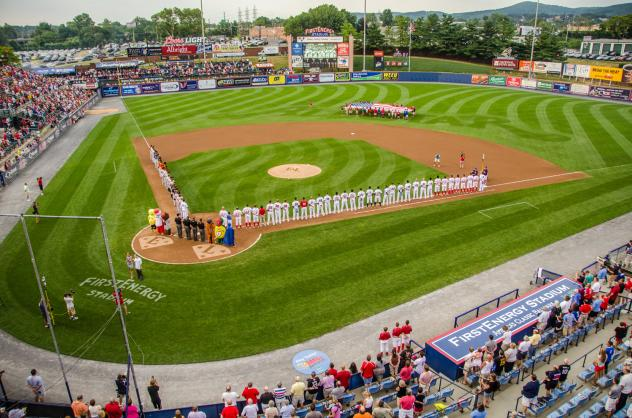 FirstEnergy Stadium, home of the Reading Fightin Phils