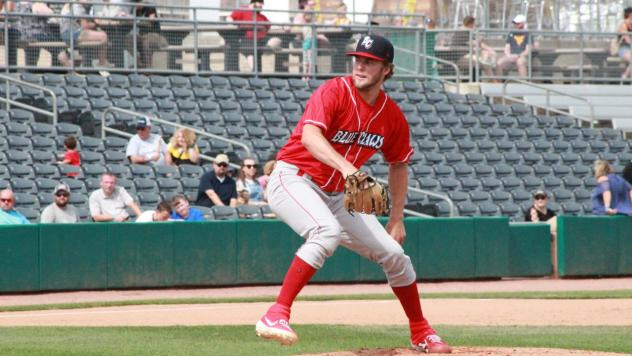 Lakewood BlueClaws pitcher Erik Miller