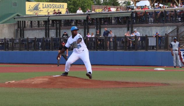 Hudson Valley Renegades pitcher Daiveyon Whittle