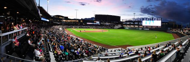 Las Vegas Ballpark, home of the Las Vegas Aviators
